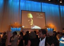 zarum art and documentary at the Gerry Pencer charity gala