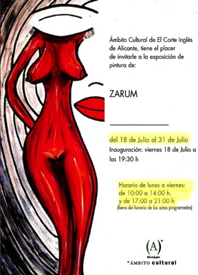 Zarum-Art-Prss-Art-Exhibit-Corte-Englese-Spain